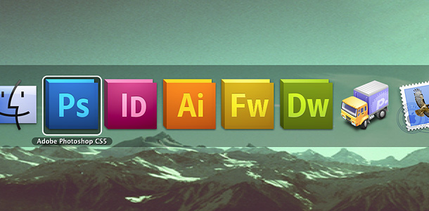 cs5 in application switcher